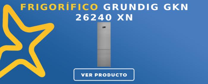 Frigorífico combi Grundig GKN 26240 XN