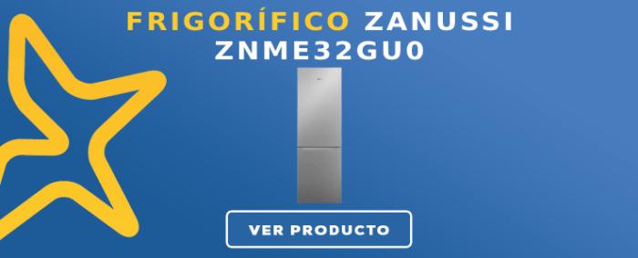 Frigorífico combi Zanussi ZNME32GU0
