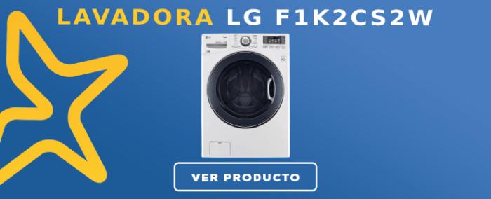 Lavadora carga frontal LG F1K2CS2W