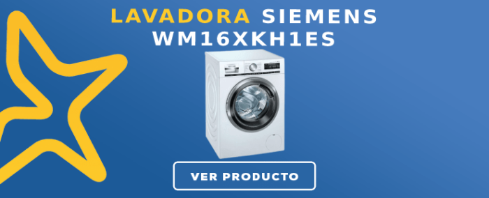 Lavadora carga frontal Siemens WM16XKH1ES