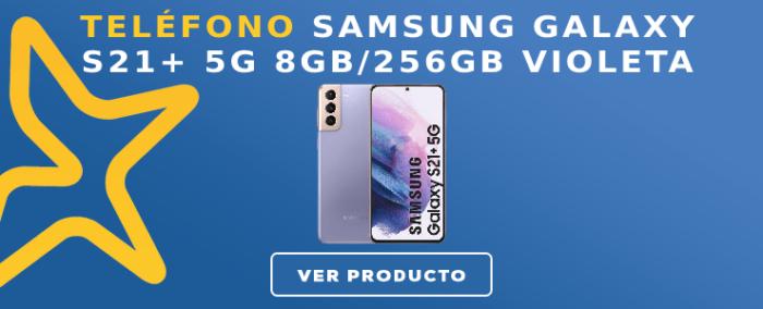 Teléfono libre Samsung GALAXY S21+ 5G 8GB/256GB Violeta