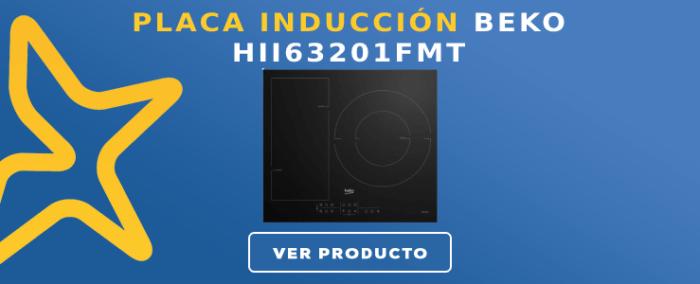 Placa de Inducción Beko HII63201FMT