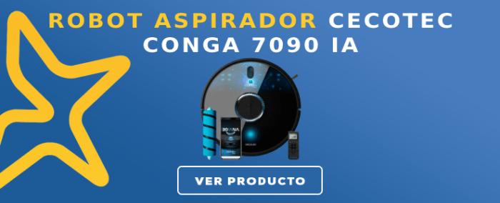 Robot aspirador Cecotec CONGA 7090 IA