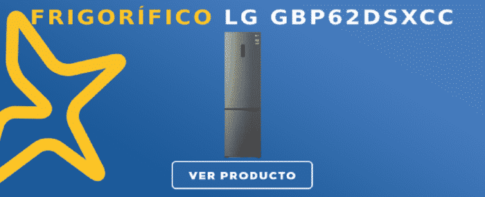 Frigorífico combi LG GBP62DSXCC