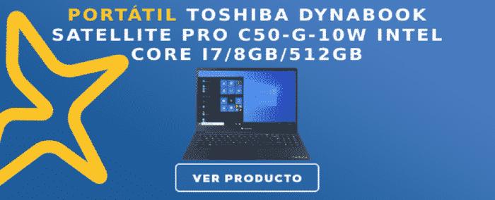 Portátil Toshiba DYNABOOK Satellite Pro C50-G-10W Intel Core i7/8GB/512GB