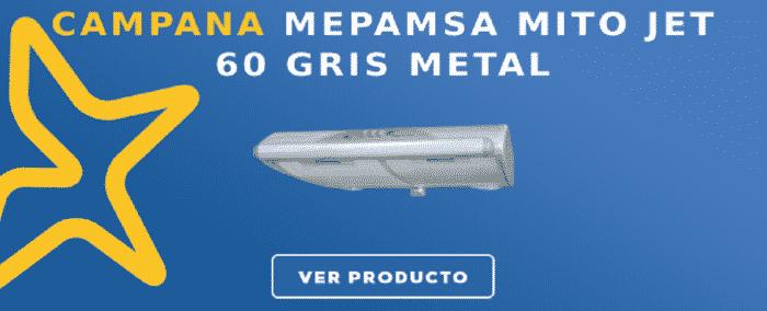 Campana Mepamsa MITO JET 60 GRIS METAL