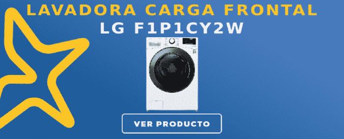 Lavadora carga frontal LG F1P1CY2W