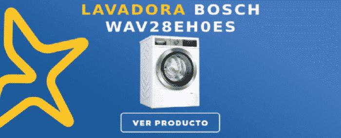 Lavadora carga frontal Bosch WAV28EH0ES