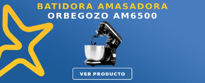 Batidora amasadora Orbegozo AM6500