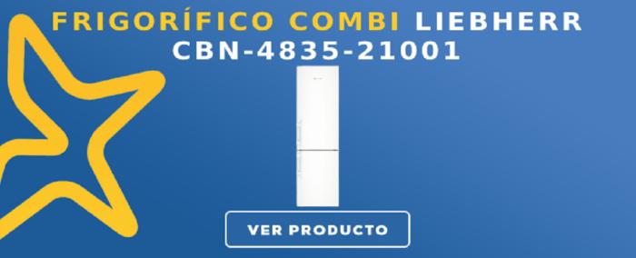 Frigorífico combi Liebherr CBN-4835-21001