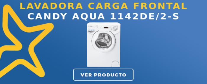 Lavadora carga frontal Candy AQUA 1142DE/2-S