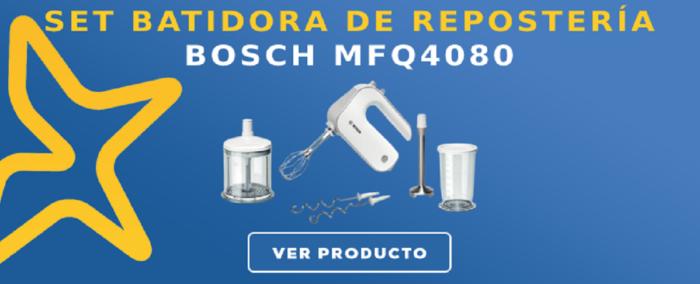 Set Batidora de repostería Bosch MFQ4080