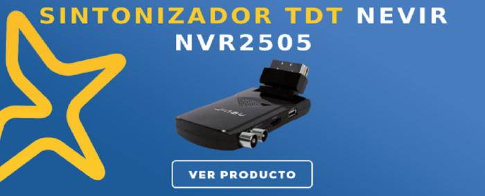 Sintonizador TDT Nevir NVR2505