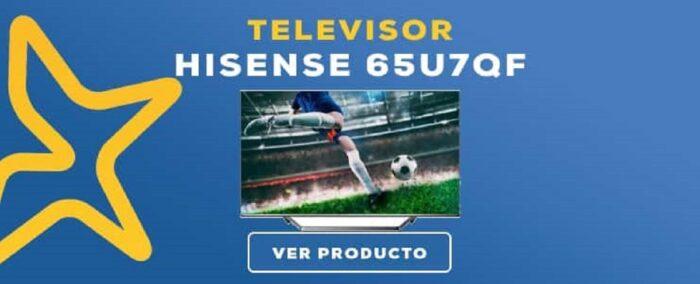 Televisor Hisesne 65U7QF