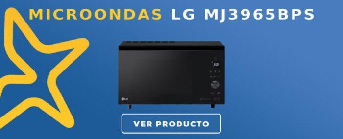 microondas LG MJ3965BPS