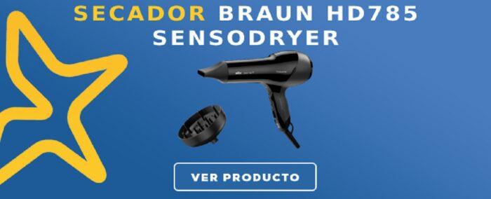 Secador Braun HD785 SensoDryer