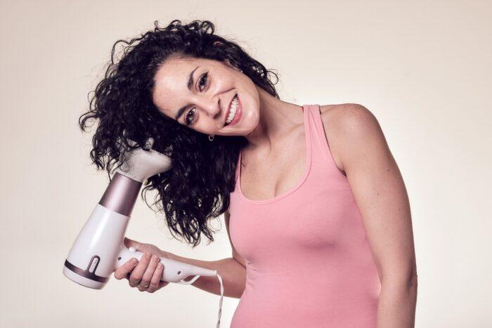 secador método curly