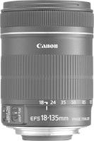 Objetivo Canon EF-S 18-135 IS