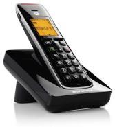 Teléfono inalámbrico Motorola 107CD201BLACK