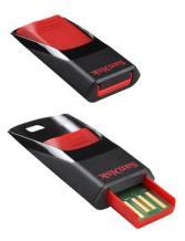 Memoria USB USB Sandisk 16GB CRUZER ED
