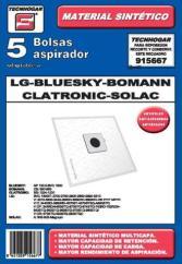 Bolsas Aspirador TECNHOGAR 915667