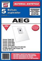 Bolsas Aspirador Tecnhogar 915740