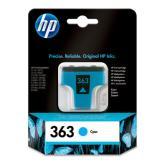 Cartucho tinta HP Nº 363 Cian