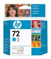 Cartucho tinta HP Nº 72 Cian