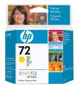 Cartucho tinta HP Nº 72 Amarillo VIVERA