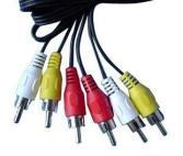 Cable Kablex 3 RCA Macho - 3 RCA Macho