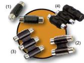 Adaptador Kablex RCA Hembra / RCA Hembra