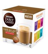 Pack de 3 Cajas Dolce Gusto Cafe au lait Descafeinado 16 cápsulas