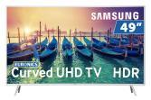 Televisor Samsung UE49KU6510