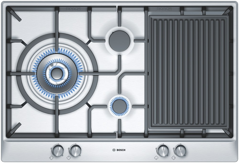 Placa de gas bosch pcx815b90e compra en - Placa de cocina de gas ...