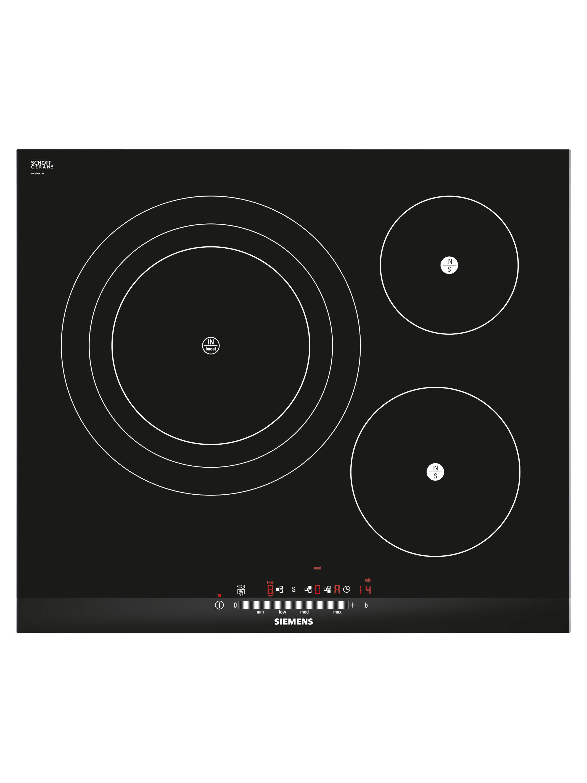 Placa de inducci n siemens eh675fd27e compra en for Hornos y placas de induccion