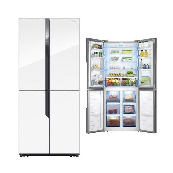 frigor fico americano hisense rq562n4gw1 compra en. Black Bedroom Furniture Sets. Home Design Ideas
