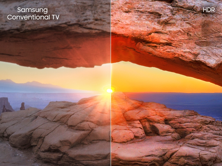 hdr+ televisor Samsung Smart tv